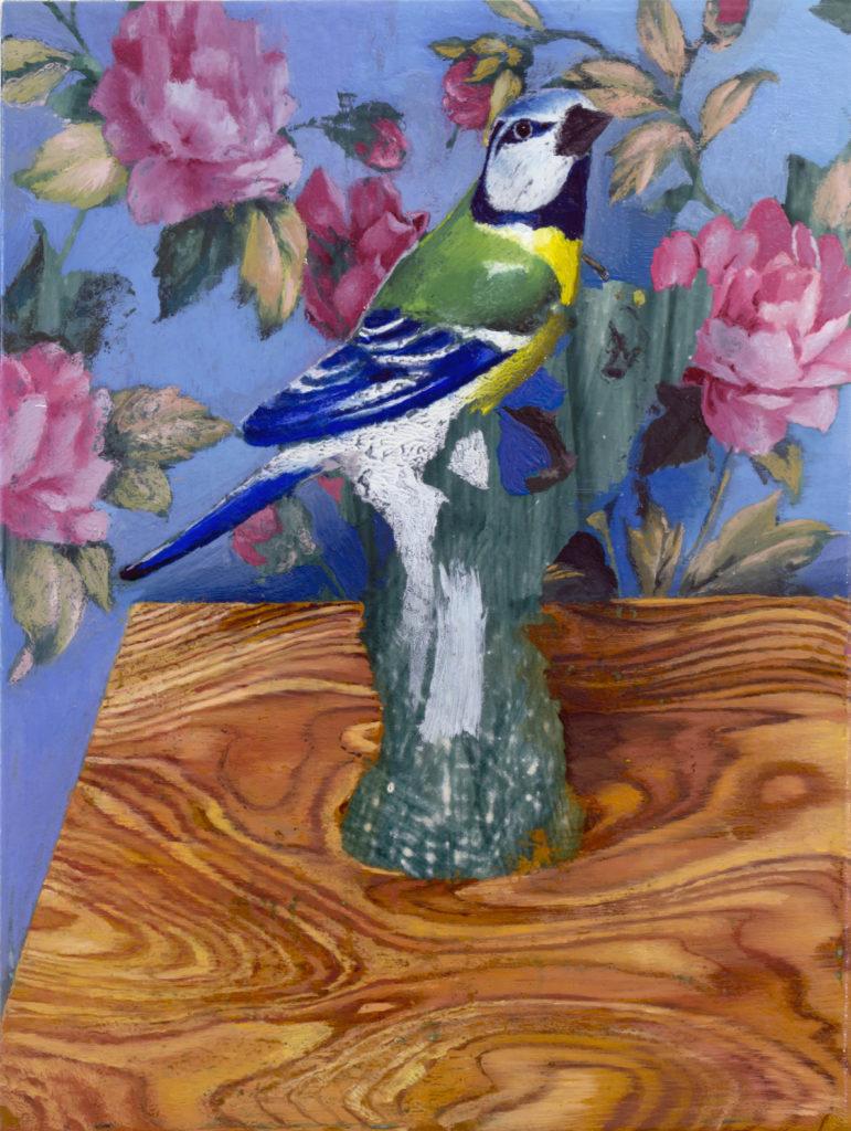 Cristiano Tassinari Bird-oil-on-canvas-mothers-bliss cristiano aldini tassinari
