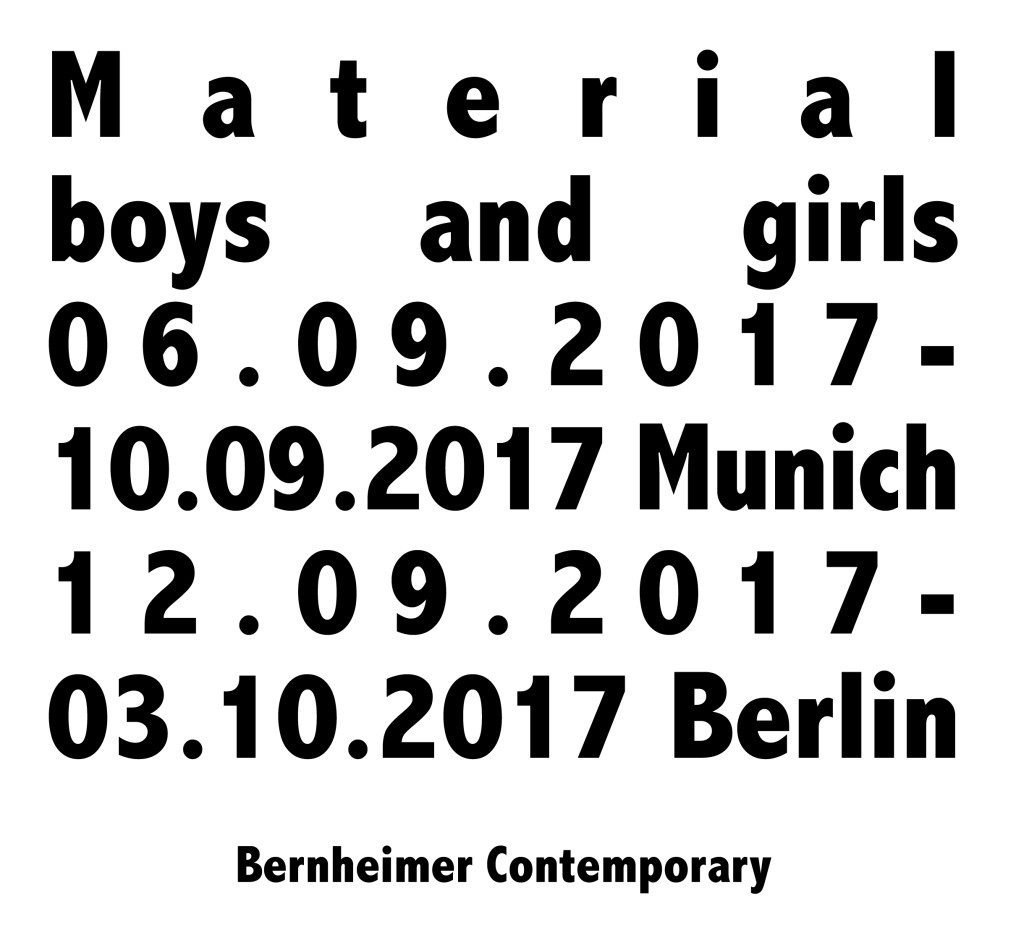 material boys and girls